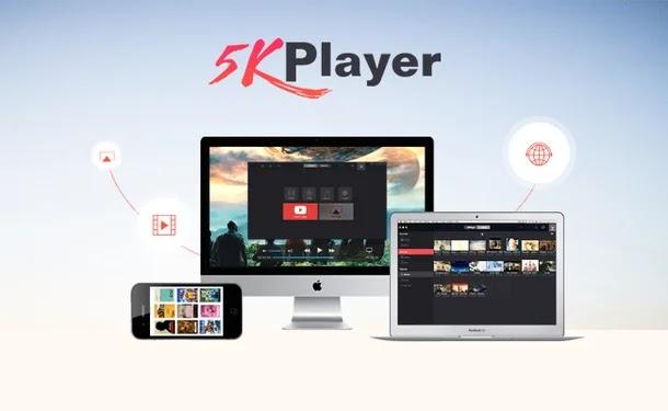 5KPlayer: أفضل مشغل فيديو تشغيل وتنزيل الفيديو والموسيقى بمميزات خرافية!