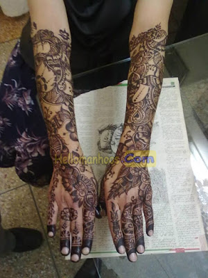 Spacial Bangladeshi Eid Mehndi Designs For Hands 2020