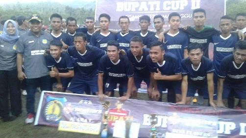 Laga Final Bupati Cup II, Kes. Pasimasunggu I, Kandaskan Tabang Putra  3 : 0