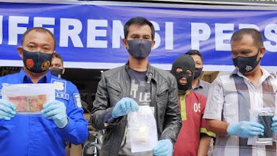 Pelaku peredaran Narkotika diamankan Polsek Pekanbaru Kota