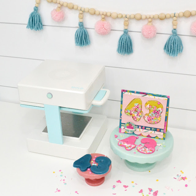 Make Custom Party Decor with the Mold Press by We R Memory Keepers