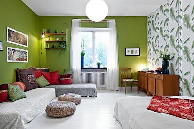 desain ruang keluarga menjadi sebuah tempat istirahat yang nyaman