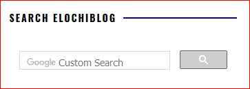 Add custom search to blogger blog