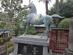 万福寺磨墨像