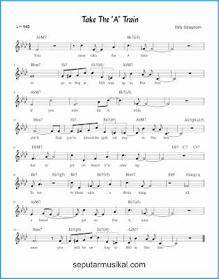 take the a train lagu jazz standar