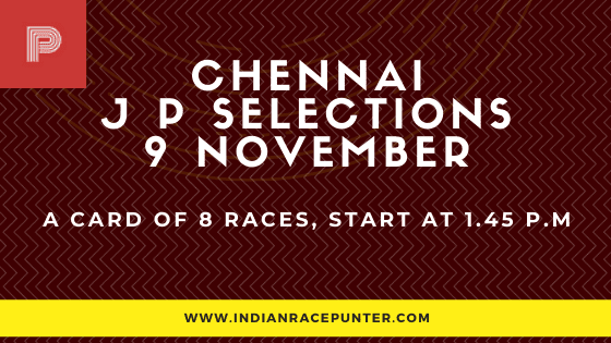 Chennai Jackpot Selections 9 November