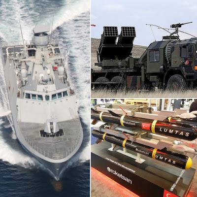 Deniz kurdu 2019 tatbikatında TCG KINALIADA (F-514)'ün yanı sıra Çok Namlulu Roketatar (çnra) ve LUMTAS ilk defa kullanılacak.