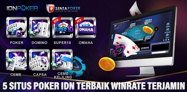 5 Situs Poker Idn Terbaik  Dan WinRate Terjamin