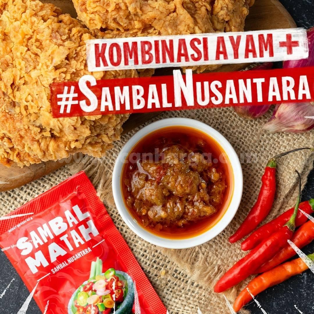 Promo KFC Kombo Duo + Sambal Nusantara cuman 50 Ribuan