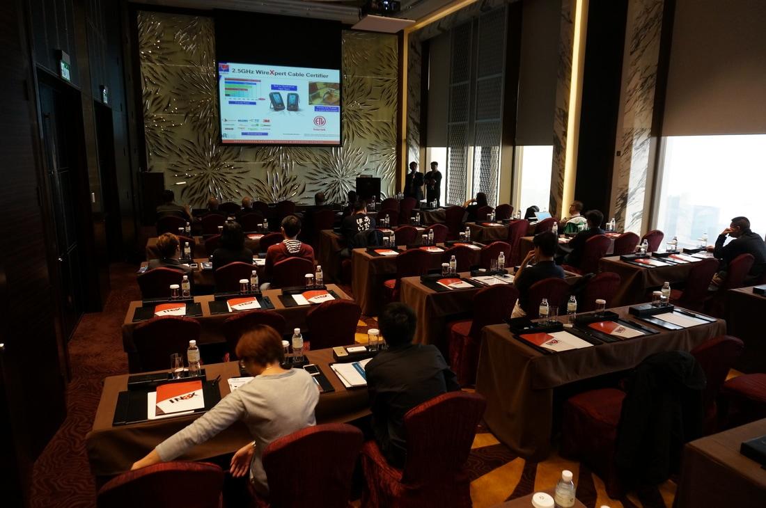 Tại Khách sạn Macau Okura, INAX giới thiệu sản phẩm mới.