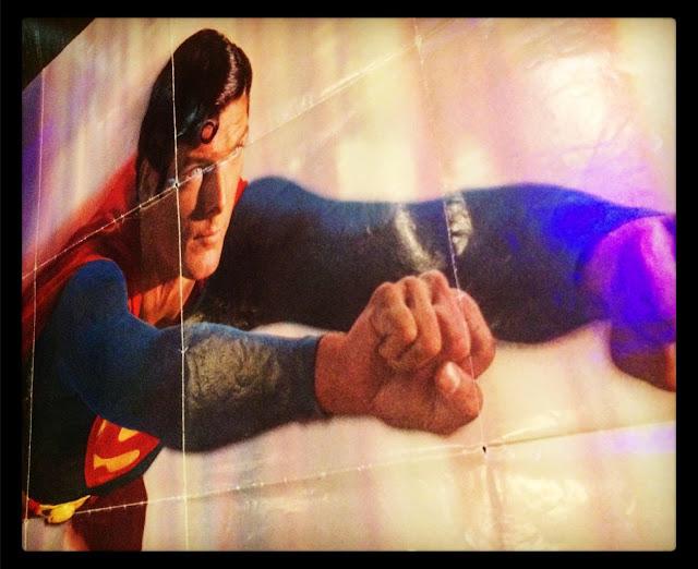 Warner Bros. Records Superman soundtrack promo poster