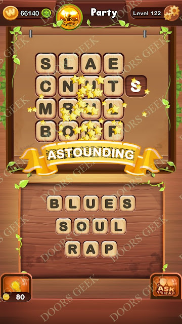 Word Bright Level 122 Answers, Cheats, Solutions, Walkthrough for android, iphone, ipad and ipod