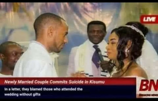 Newly married couple commits suicide in Kenya