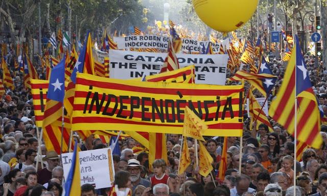 Καταλονία: Έρχεται μονομερής ανακήρυξη Ανεξαρτησίας - 90% είπε ΝΑΙ