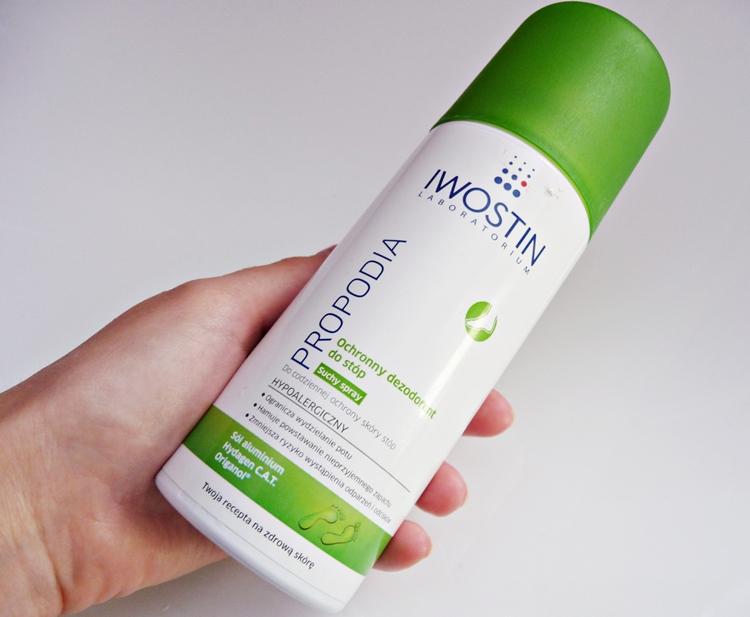 spray do stóp przeciw poceniu Iwostin