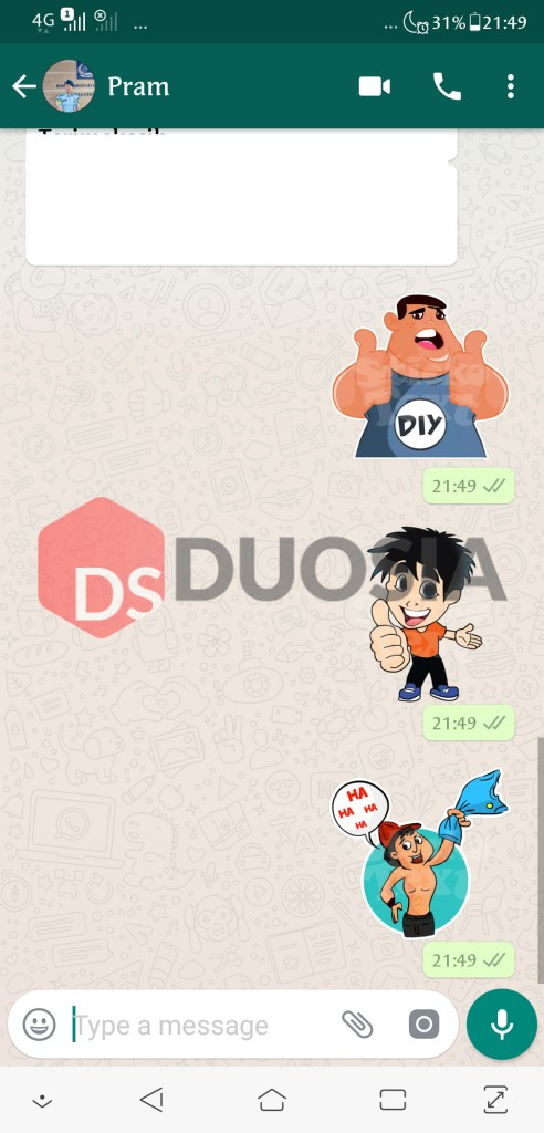 download sticker di wa