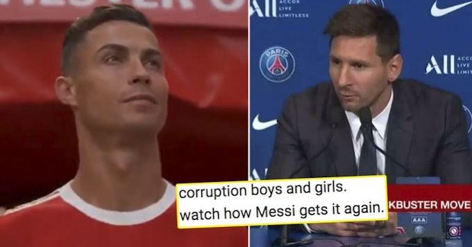 Manchester United fans insist Messi doesn't deserve 2021 Ballon d'Or