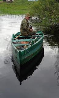 на рыбалку с лодки