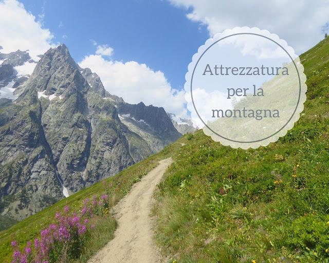 Accessori e attrezzatura per la montagna e il trekking