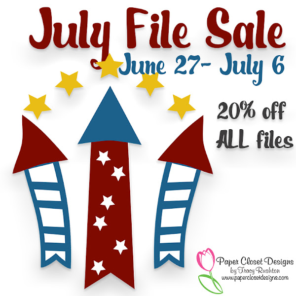 July Files 20% Off