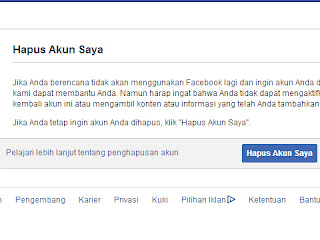 2 Cara Untuk Menghapus Akun Facebook Selamanya