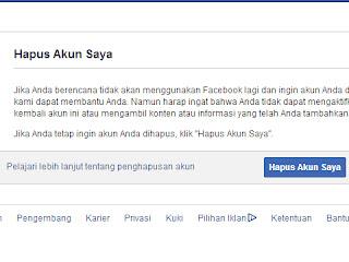 Hapus Facebook Selamanya