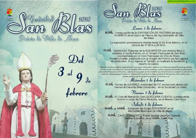 Programa de Actos San Blas 2020 - Villa de Mazo