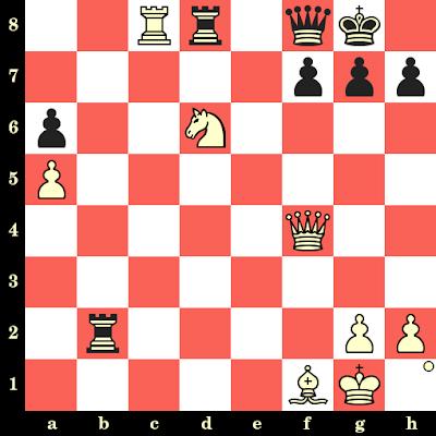 Les Blancs jouent et matent en 4 coups - Ratmir Kholmov vs Alexander Filipenko, Cheliabinsk, 1991