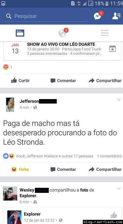 Paga de macho mas procura o nude do Leo Stronda