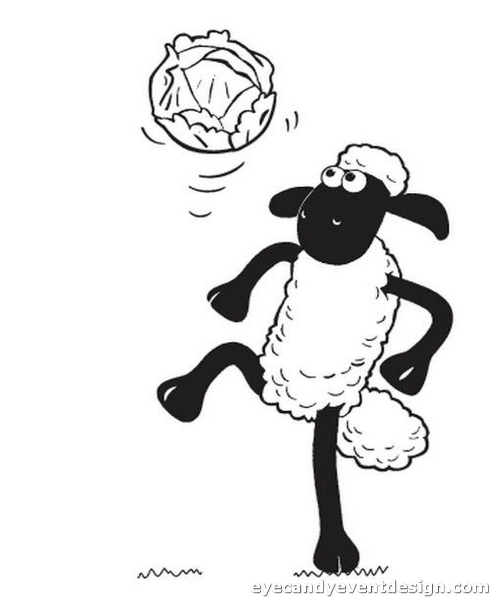 Malvorlagen Schaf