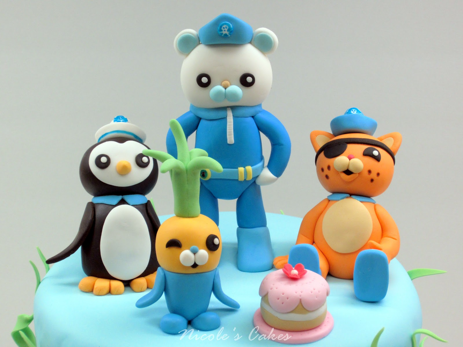 Characters Octonauts Cake Toppers