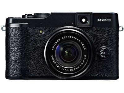 Fujifilm X20ミラーレスデジタルカメラファームウェアのダウンロード