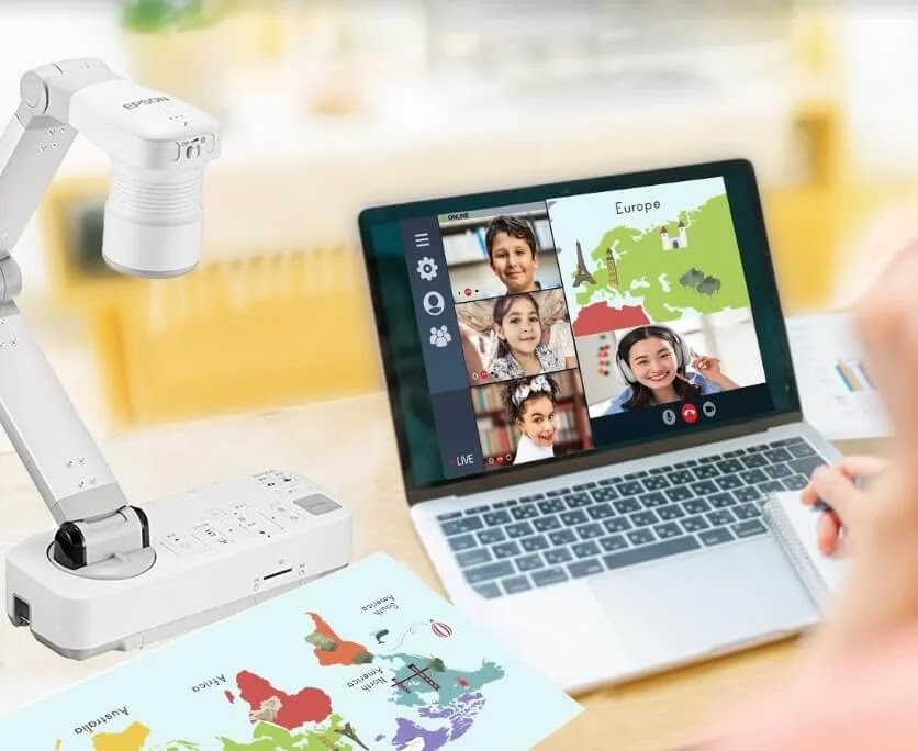 Remote Learning Experience Made Immersive with Epson's ELPDC21 Document Camera; Yours for Only Php28,690
