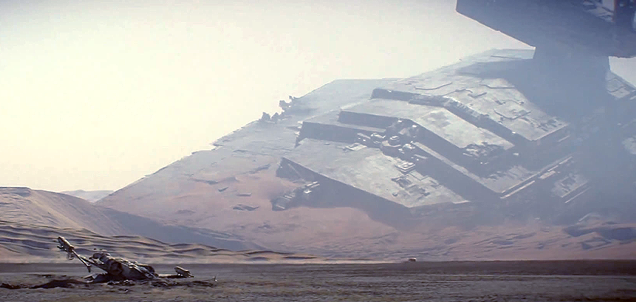 Star Wars: The Force Awakens Trailer: Planeta Jakku