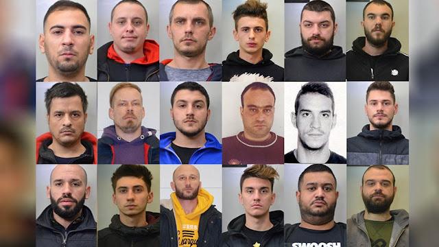 Αυτοί είναι οι 19 της συμμορίας που διακινούσαν ναρκωτικά με βάση τους σχολικό συγκρότημα