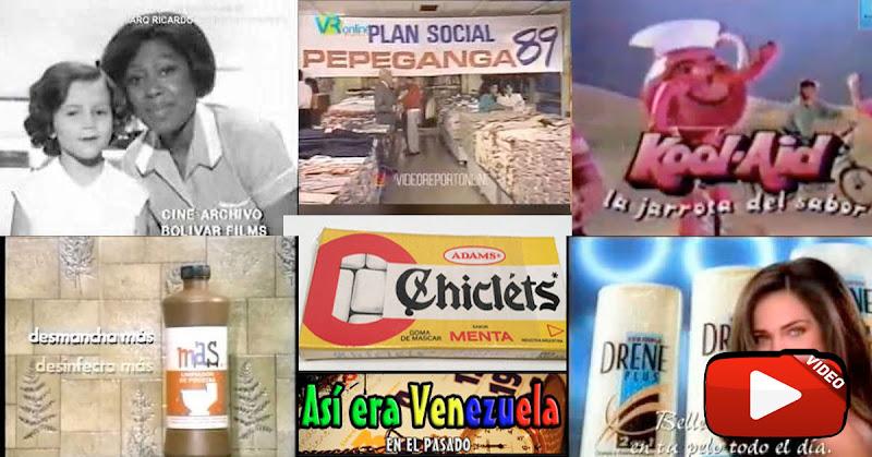 Más propagandas de la TV Venezolana en el pasado