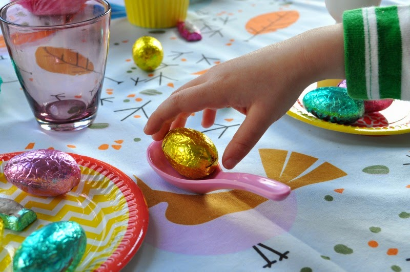 gold easter eggs and easter decorating ideas