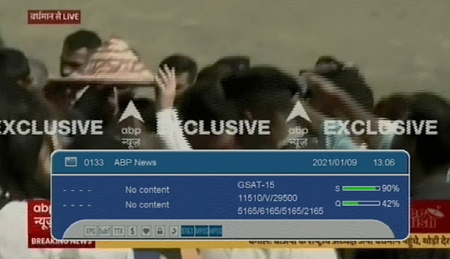 ABP News rebranded with new Identity at Channel no. 69 Know Frequency and Channel Number