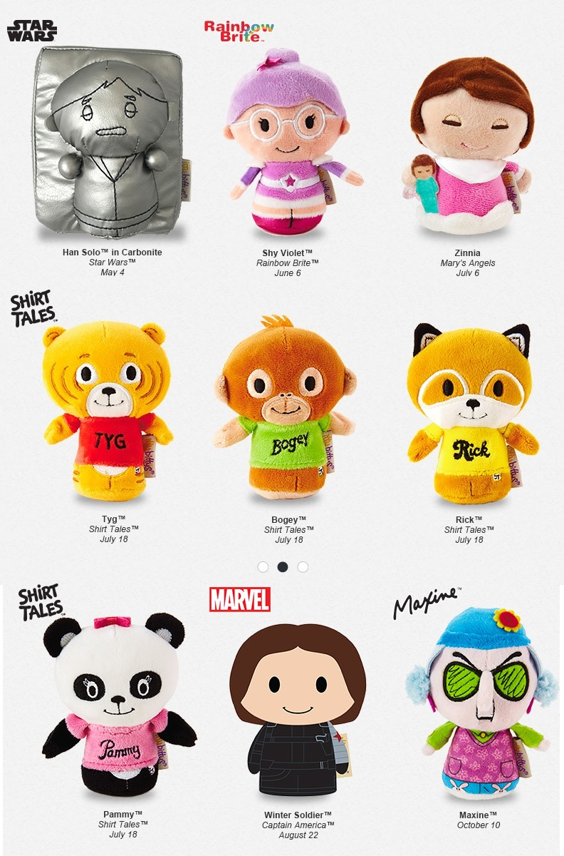 Remember These Itty Bittys Will Not Be In Stores But They Will Sell Out Fast So Dont Miss These Dates Hallmark Com