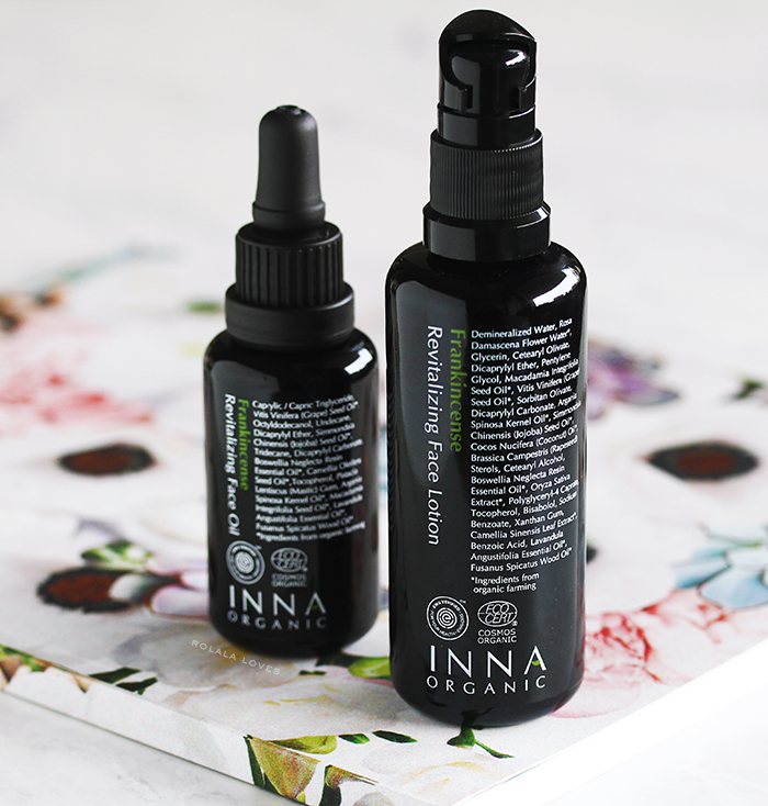 INNA Organic Frankincense Revitalizing Face Lotion Review, INNA Organic,, INNA Organic Skincare, INNA Organic  Review, INNA Organic Frankincense Revitalizing Face Oil, INNA Organic Frankincense Revitalizing Face Oil Review,