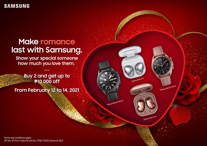 SAMSUNG's Valentine's Day Promo: Get the best deals on your favorite gadgets
