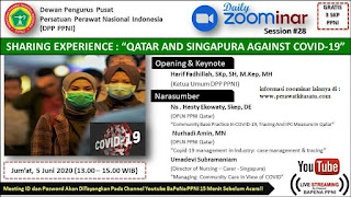 Zoominar Gratis SKP PPNI Nasional (Nursing Daily Zoominar 25) 5 Juni 2020