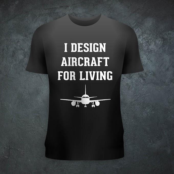 Aircraft Nerds Aircraft Designer Unisex T-shirt