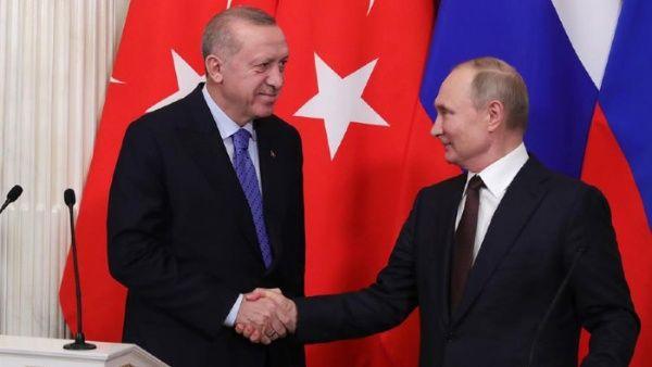 Presidentes de Rusia y Turquía abordan asuntos de interés mutuo