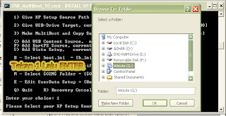 Cara Install Windows XP dari Flashdisk