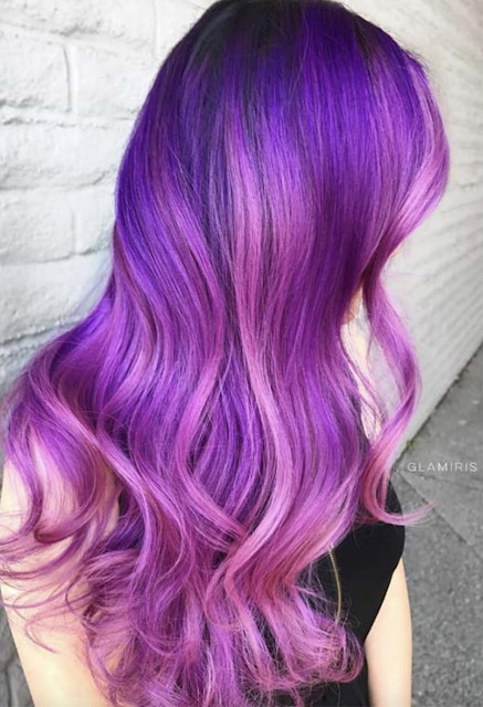 2019 hair color purple