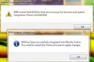 Cara mengatasi IDM (Internet Download Manager) error Terbaru 2016