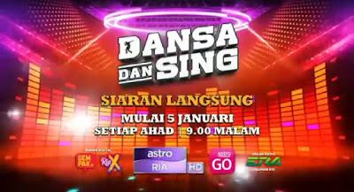 Live Streaming Dansa Dan Sing 2020 Online