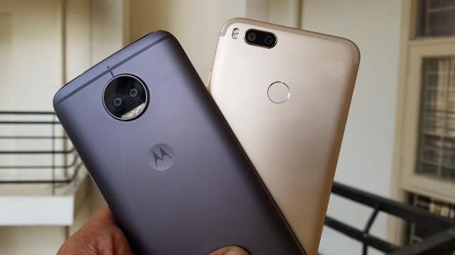 Xiaomi Mi A1 vs Moto G5S Plus