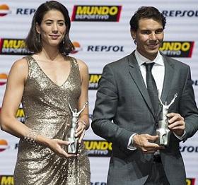 Spanish, tennis, players, Garbine Muguruza, play, Rafael Nadal, Tokyo Olympics 2021.